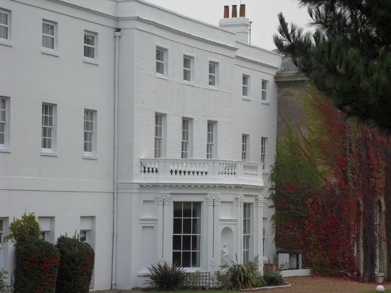 Back View Of White House Picture Of Beaumont Estate Old