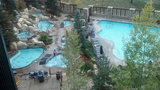 Marriott's MountainSide: So many hot tubs!