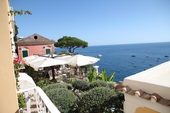 Hotel Marincanto: view from balcony