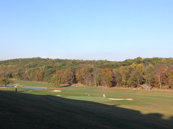 Cacapon Resort State Park: Golf Course behind the main building