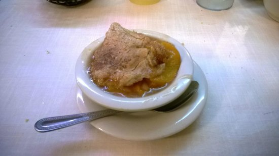 Georgia peach cobbler - Picture of Mary Mac's Tea Room, Atlanta ...
