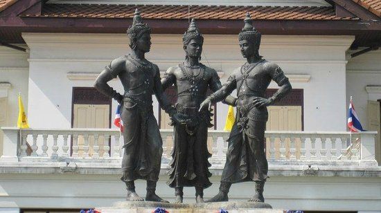 Photos of Three Kings Monument Square, Chiang Mai