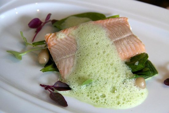 Fresh Sea Trout , tarragon foam - Picture of O'Gradys Gastro Bar and ...