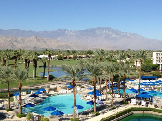 Desert Springs JW Marriott Resort & Spa: Balcony View