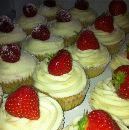 ... Shower Cupcakes - Picture of Silver Sparkle Cake Company, Leicester