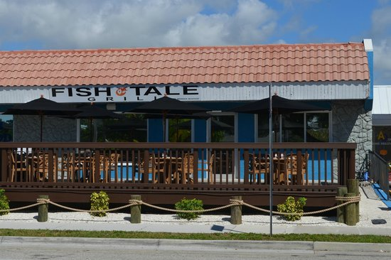 Wide view of fish tale and merrick seafood picture of for Fish tales cape coral