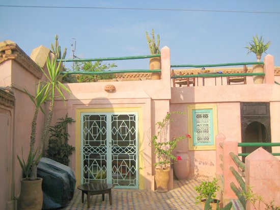 Riad Souika: Roof Terrace