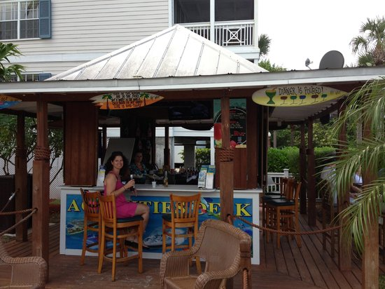 Jimmy S Ocean Blue Tiki Bar Key West Restaurant Reviews