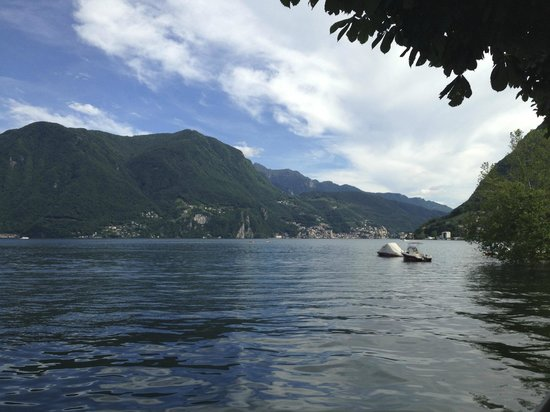 Lugano Dante Center Swiss Quality Hotel: View from the lake