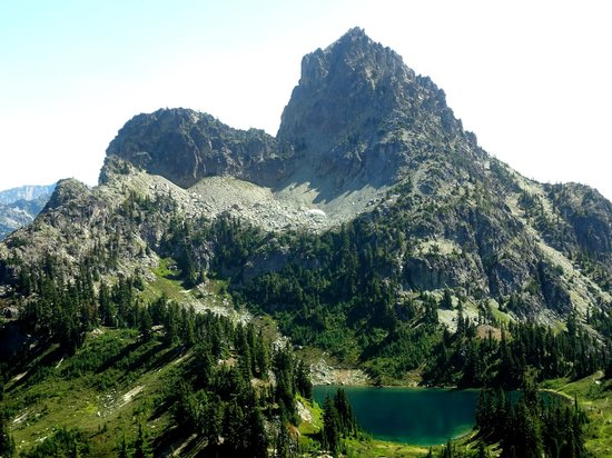 Cle Elum (WA) United States  city pictures gallery : Cle Elum, WA: Peggy's Pond, Cascade Mountains. WA state