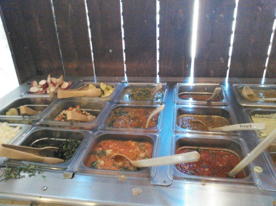 Salsa Bar Picture Of Hendersonville North Carolina