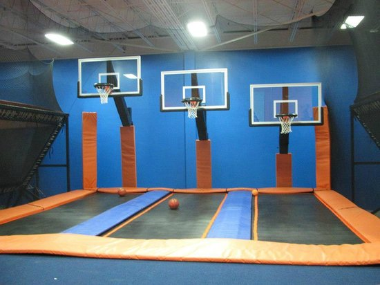 Sky zone springdale picture of sky zone indoor for Ball pits near me