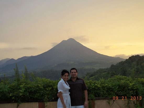 The Springs Resort and Spa: Vista del Volcan Arenal