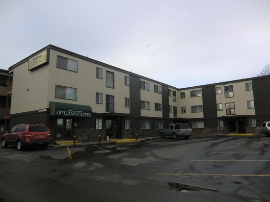 hotel outlook - Picture of Anchorage Uptown Suites ...