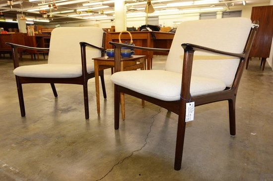 Mid Century Mobler - Ole Wanscher Lounge Chairs - Picture of San ...