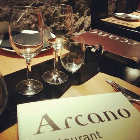 Arcano restaurant nice ambience picture of arcano for Ambiance cuisine nice
