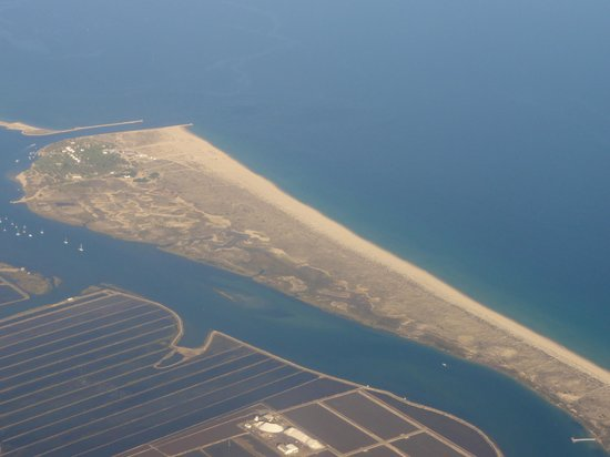 Tavira Island From The Plane Picture Of Vila Gale Tavira Tavira Tripadvisor