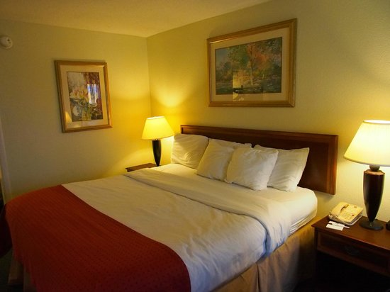 Clarion Inn & Suites: Room on first floor