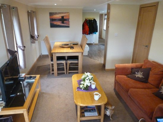 Tralee Bay Holiday Park: Dining area
