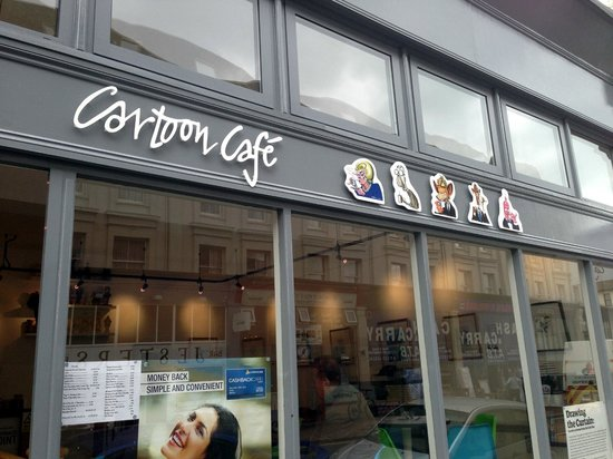 Cartoon Cafe Cartoon Cafe Eastbourne