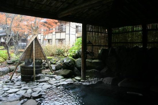 Barrel For One Picture Of Lamp No Yado Aoni Onsen