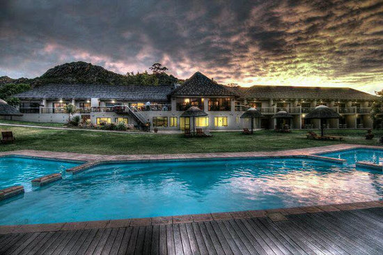 Citrusdal, South Africa: Piekenierskloof @ night