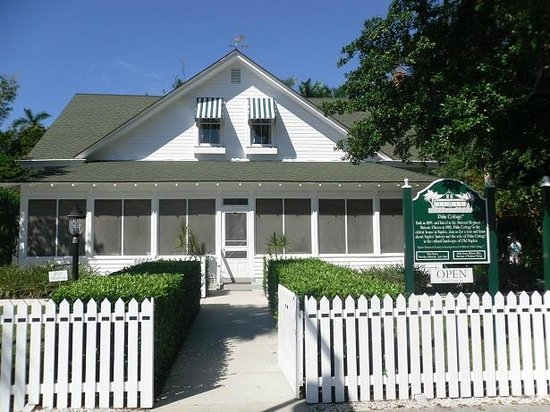 Naples Historical Society S Historic Palm Cottage Fl