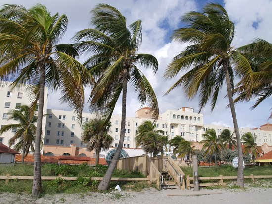 picture of historic hollywood beach resort. Black Bedroom Furniture Sets. Home Design Ideas