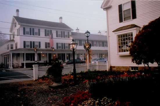 Toward the Griswold Inn