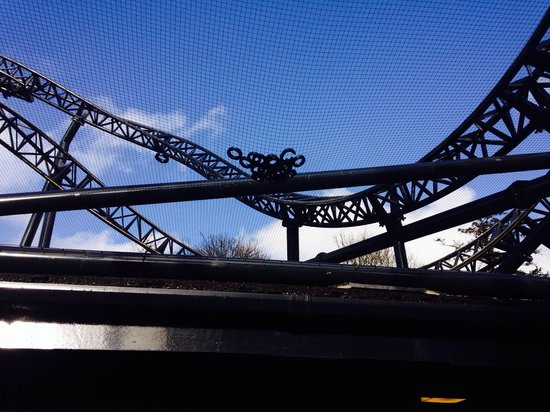 Alton, UK: Piece's of washers from the track on smiler DANGEROUS!!