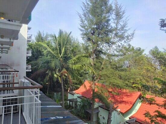 HARRIS Resort Batam Waterfront: from balcony