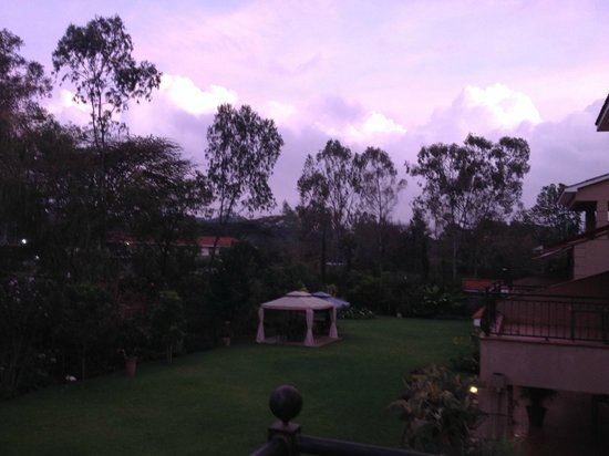 Collingham Gardens Residence & Club: View from the room - early morning