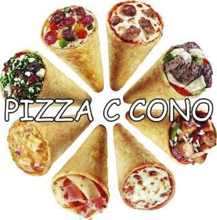 The Only Fresh Pizza In A Cone Picture Of Pizza C