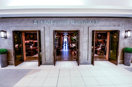 Restoration hardware large 39 gallery concept 39 store in for Restoration hardware online shopping