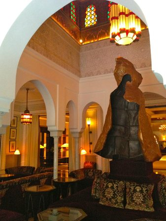 La Mamounia Marrakech: Foto do lobby