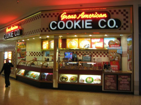 Great American Cookie Co Northpark Mall W Kimberly Rd Picture Of Great