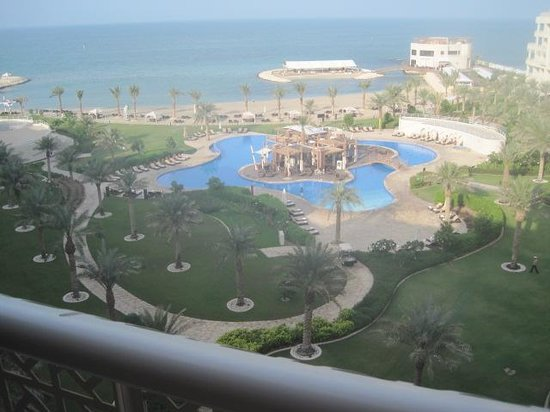 Zallaq Bahrain  city images : View from balcony Picture of Sofitel Bahrain Zallaq Thalassa Sea ...