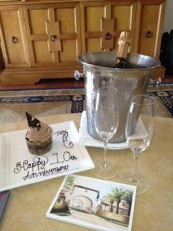 Bacara Resort & Spa: Treat from the hotel