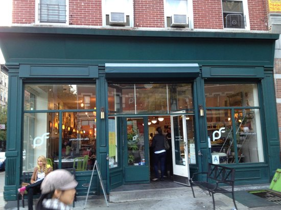 Exterior - Picture of Peacefood Cafe, New York City - TripAdvisor