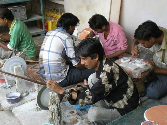 The Craftsmen At Work Very Nice Picture Of J K