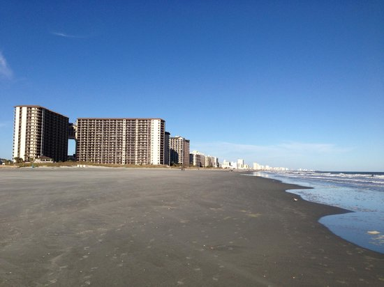Low Tide Picture Of North Beach Plantation North Myrtle Beach Tripadvisor