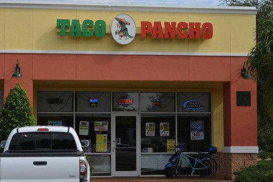 Wide View Of Taco Pancho Picture Of Cape Coral Southwest Gulf Coast Tripadvisor