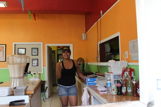 Very nice girl Picture of Serg s Mexican Kitchen