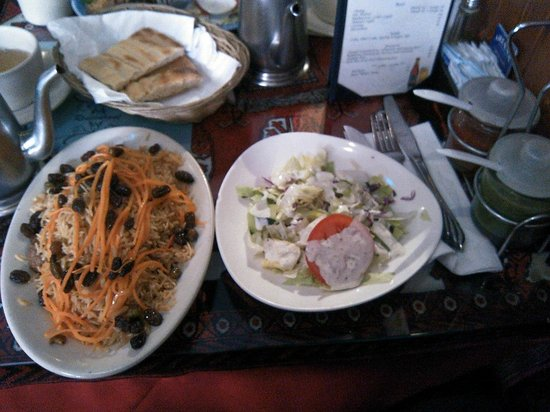 Antipasti picture of ariana afghan kabab restaurant new for Ariana afghan cuisine