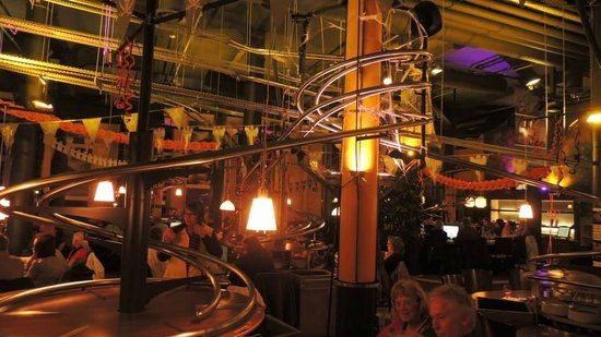 Restaurant Picture Of Rollercoaster Restaurant Hamburg