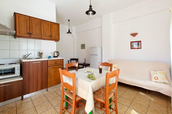 Olive Tree Apartments: Apartment #1, ground floor, living-dining area