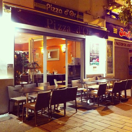 Pizza d 39 or antibes restaurant reviews phone number for Restaurant antibes