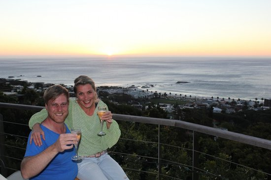 Boutique @ 10: Terras with stunning sunset views