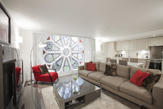 Living Room With Preserved Church Mosaic Picture Of Apple Apartments Aberde