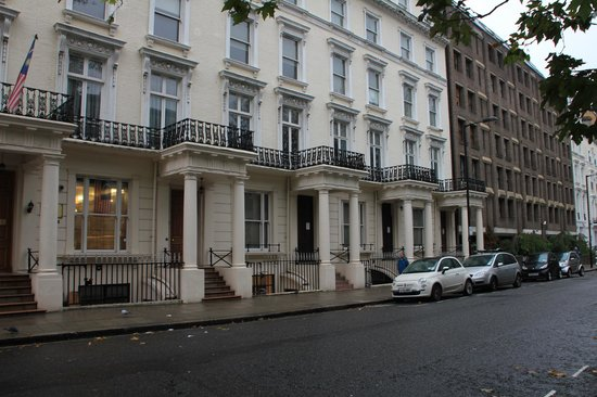 Agujero picture of queens park hotel london tripadvisor for Queensborough terrace
